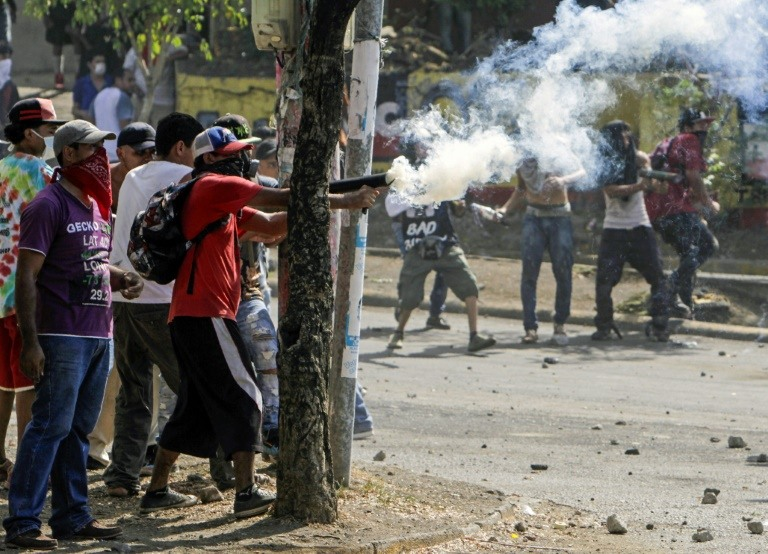 More than 20 dead in Nicaragua protests: rights group