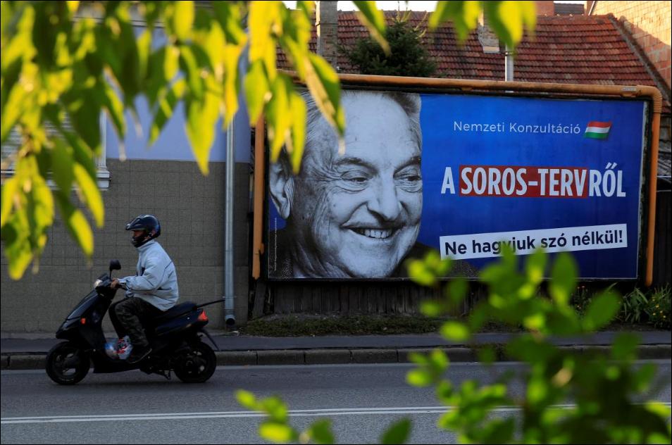 Soros foundation attacks 'stifling' Orban law as Hungary exit looms