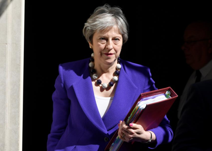 British PM May dealt embarrassing Brexit defeat in parliament's upper house