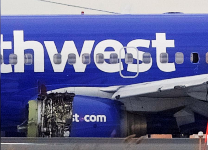 Southwest focuses on older engines in probe of deadly jet explosion
