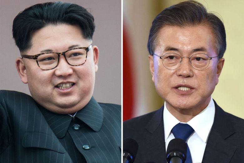 S.Korea reviewing way to turn armistice into peace treaty in inter-Korean summit