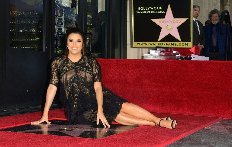 Eva Longoria gets star on Hollywood Walk of Fame