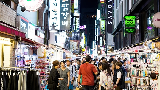 Chinese tourist arrivals in South Korea rebound in March