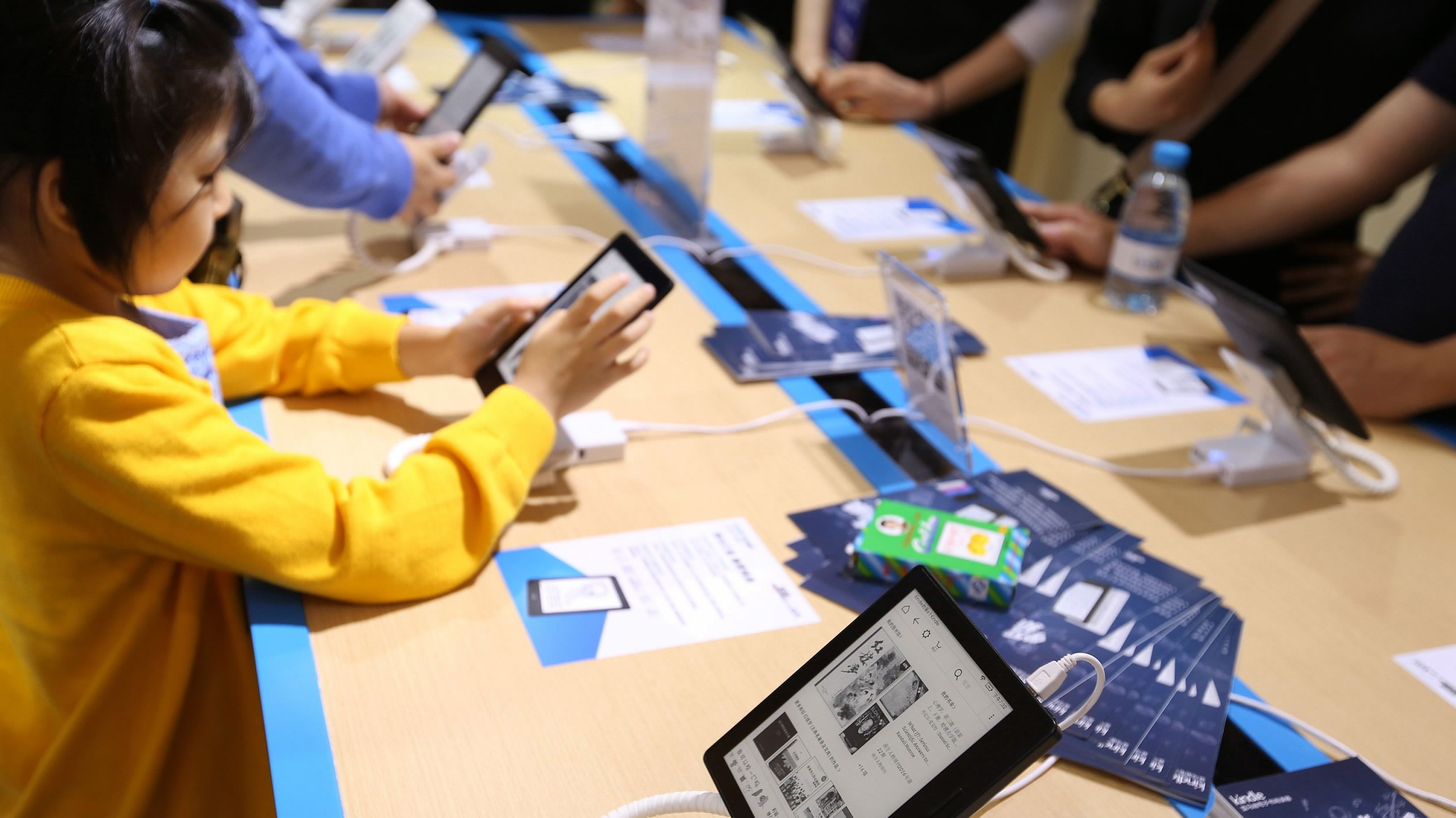 China's e-book market to hit $5.34 bln by 2020