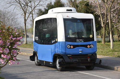 China takes wheel in autonomous driving