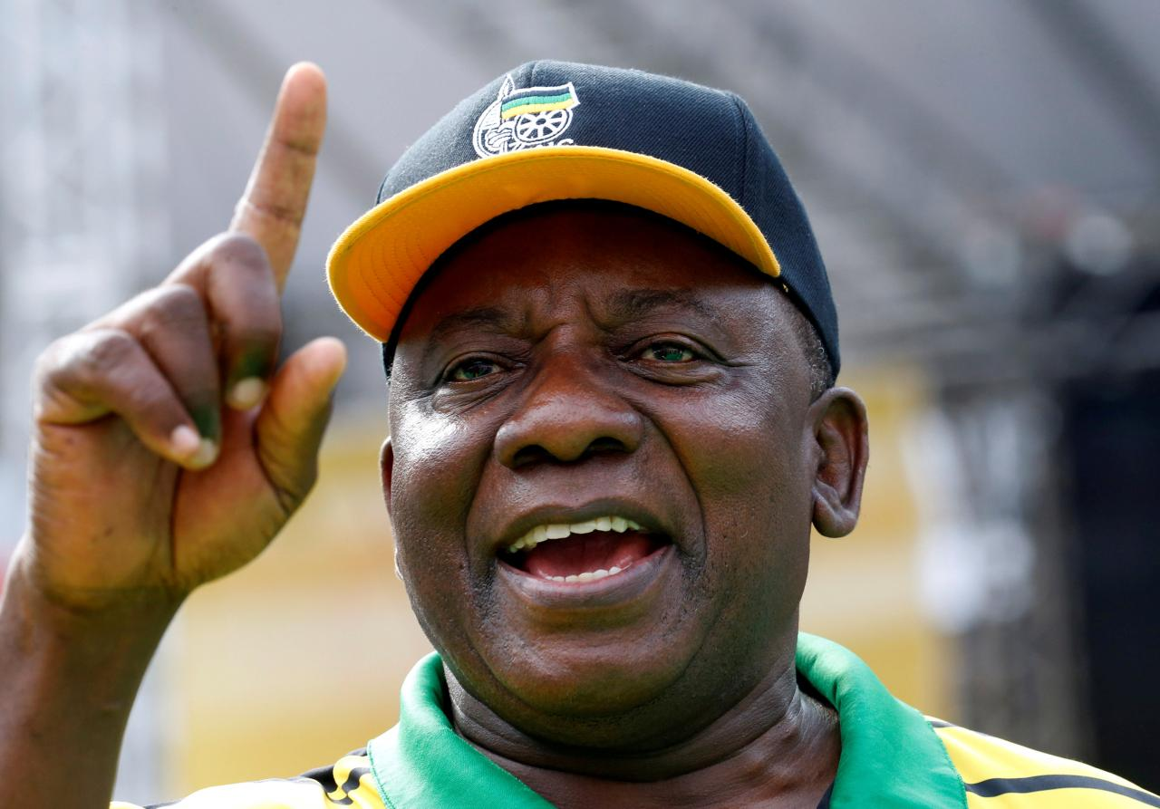 Image result for ramaphosa reuters
