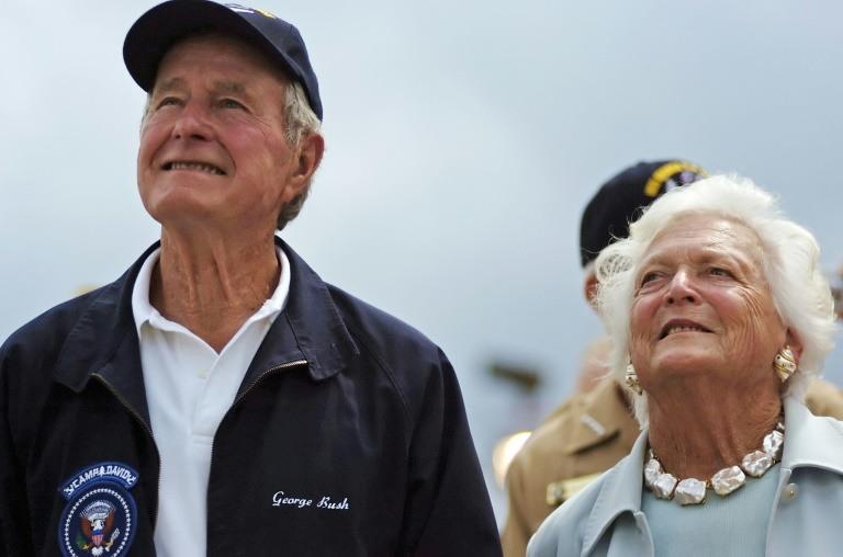Former first lady Barbara Bush, 92, 'in failing health'