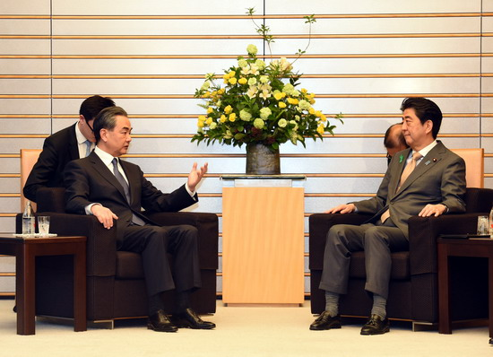China, Japan agree to further improve ties, expand cooperation