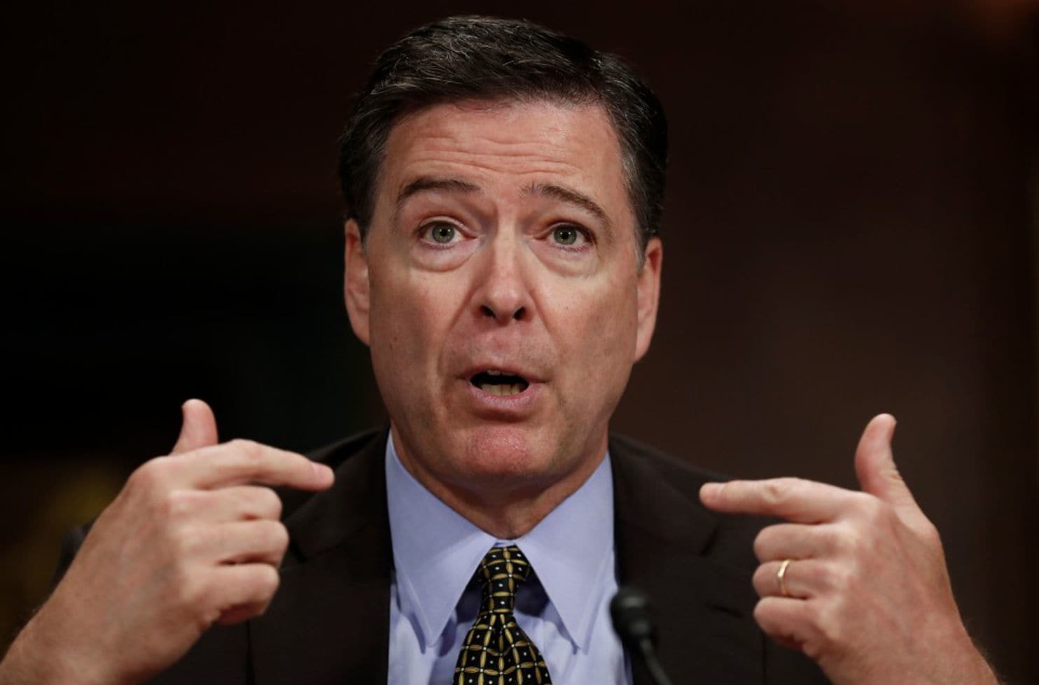 Trump 'morally unfit' for office, fired FBI chief Comey tells ABC
