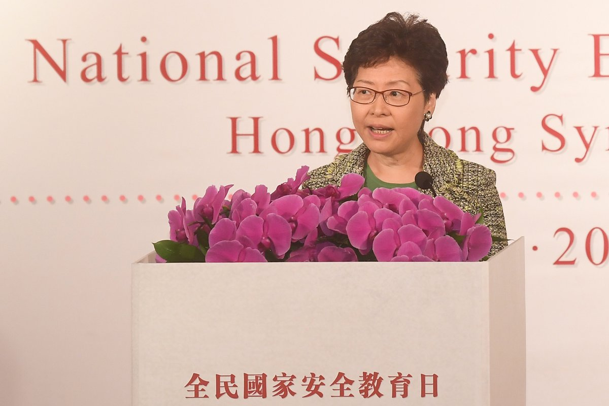 China's Hong Kong discusses its constitutional responsibility for national security