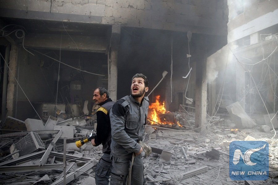 US, allies risk Russian retaliation in Syrian attack