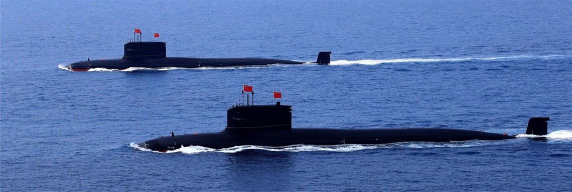 Strong navy steers more balanced, steady rise of China