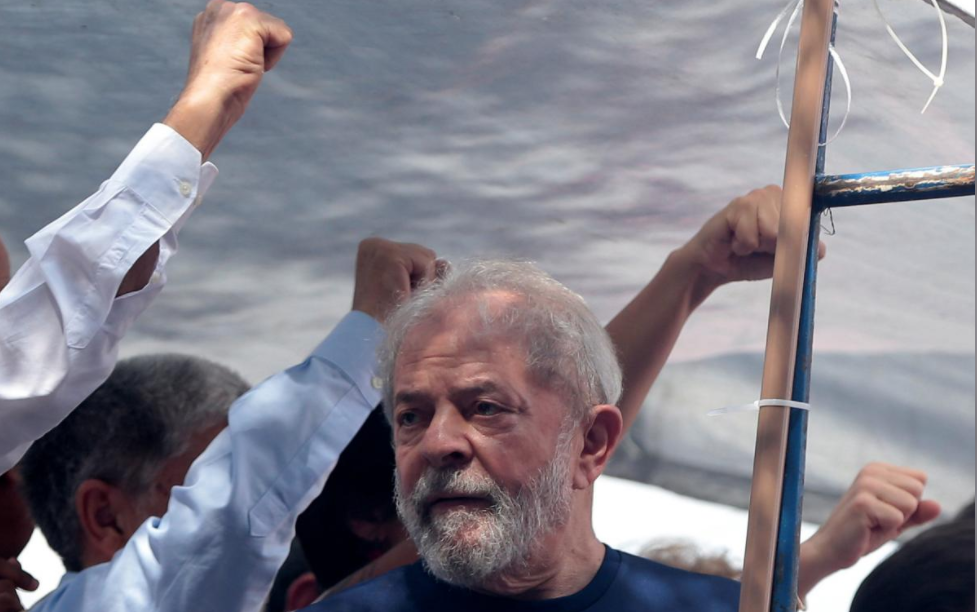 Brazil's Lula spends first night in jail amid fight for freedom