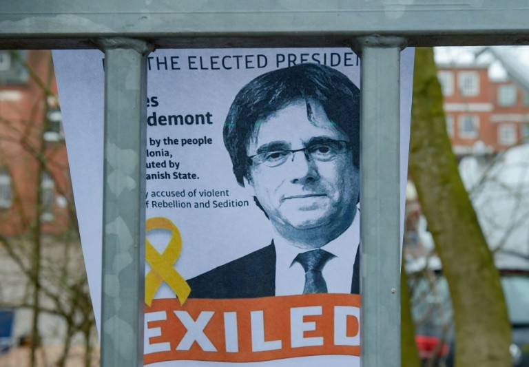 Catalonia's Puigdemont set for bail in Germany