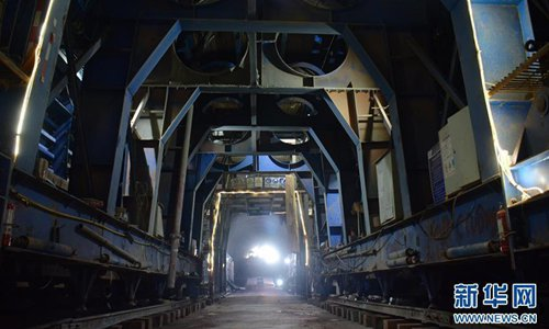 China-Laos cross-border tunnel