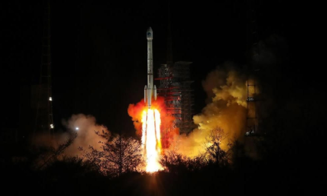 China launches two satellites by single carrier rocket