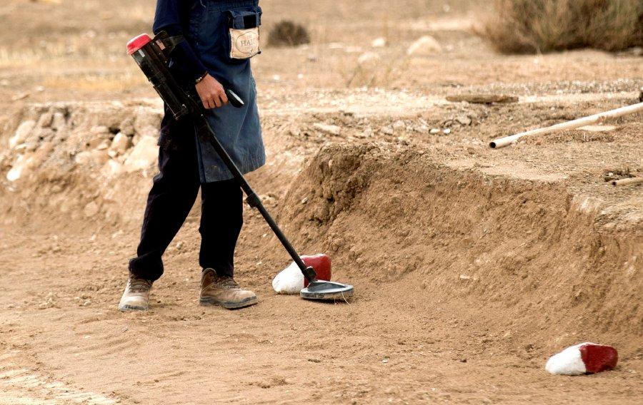 Mine kills three, injures two de-miners in Nagorno-Karabakh