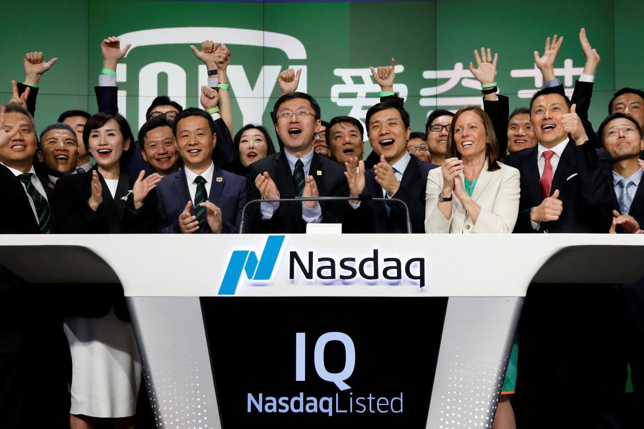 Chinese streaming company iQiyi debuts on Nasdaq at $18.20/share