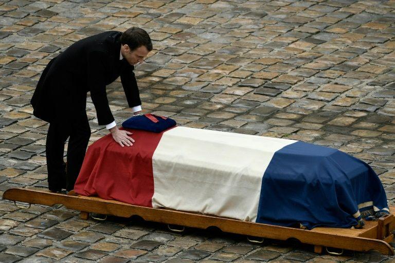 Macron hails slain policeman as symbol of 'French resistance'