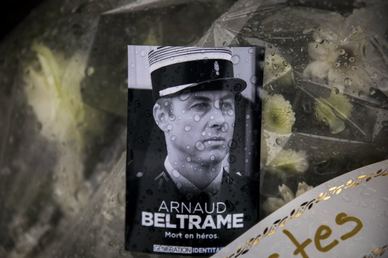 Mass for French officer whose sacrifice 'saved the nation