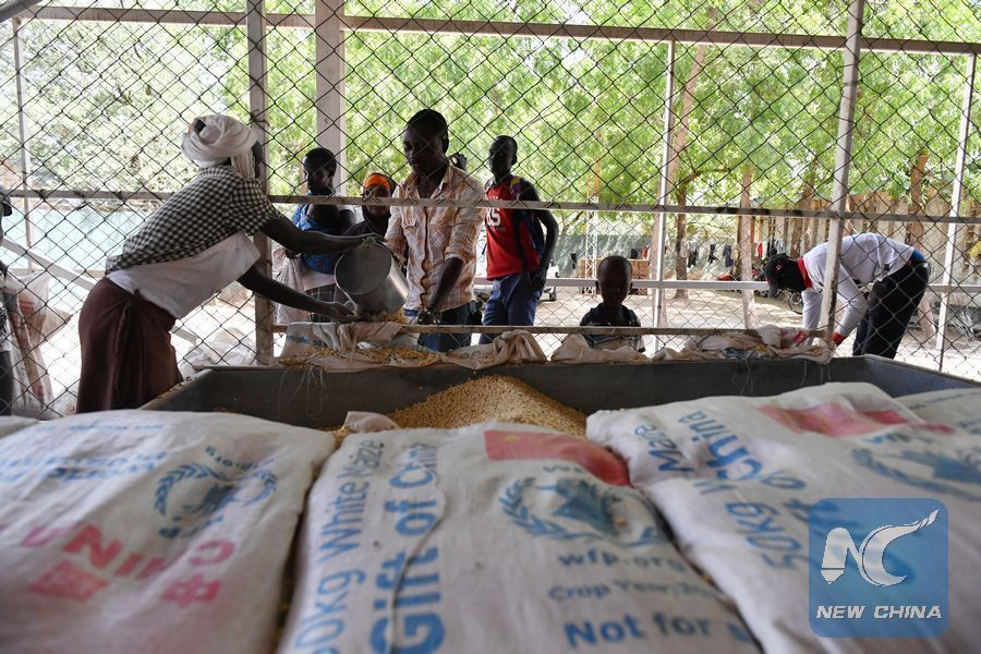WFP hails China's food aid to refugees living in Kenya