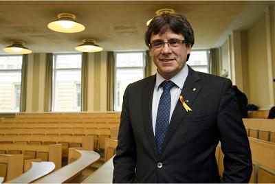 Former Catalan leader faces arrest in Finland