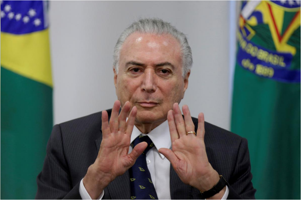 Brazilian President Temer edges closer to declaring for this year's race