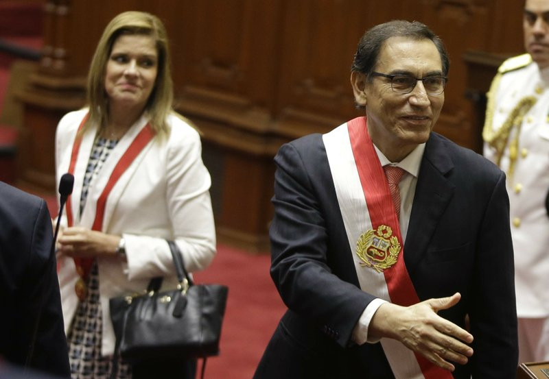 Peru's new president vows to tackle endemic corruption