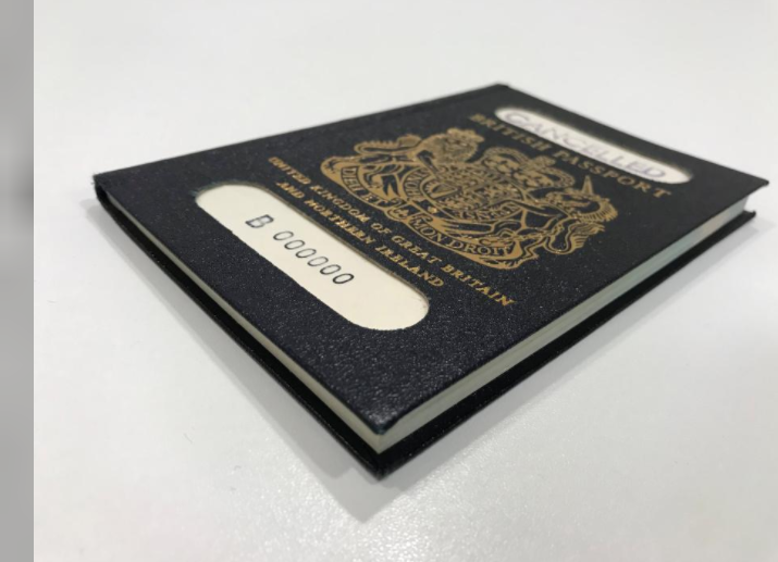 'Sacre bleu!' New post-Brexit British passport to be made by Franco-Dutch firm