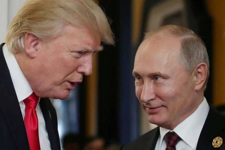 White House hunts leaker after Trump congratulates Putin