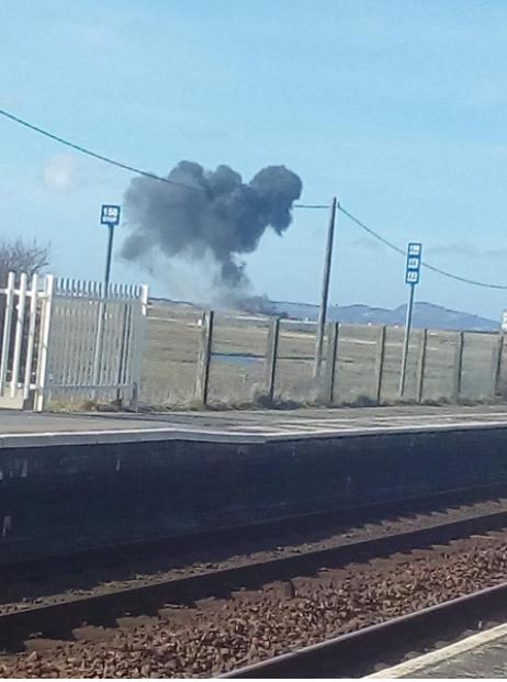 UK says RAF engineer dies in jet crash in Wales