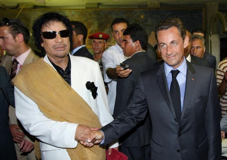 French ex-president Sarkozy held in Libya financing probe