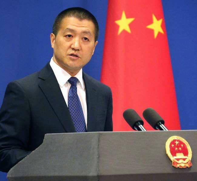 """外交部国防部发言人:坚决反对美方签署""""台湾旅行法"""""""