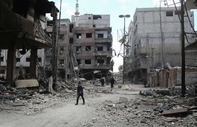 """""""Rebel group in Syria's Ghouta rejects Russia proposal for surrender""""的图片搜索结果"""
