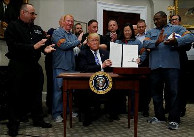 Trump's tariffs head for a legal minefield