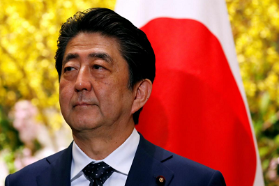 Japan PM Abe's support falls to 39 percent amid scandal doubts