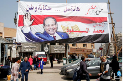 Sisi calls for big turnout in Egyptian election