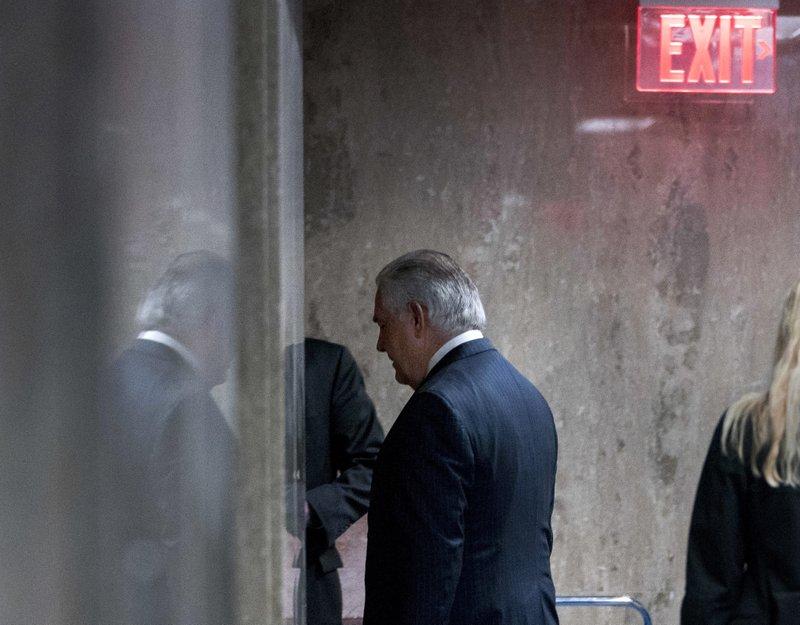 Gulf Arabs relish Tillerson firing; Iran weighs nuclear dea