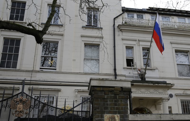 Britain boots 23 Russian diplomats over spy poisoning