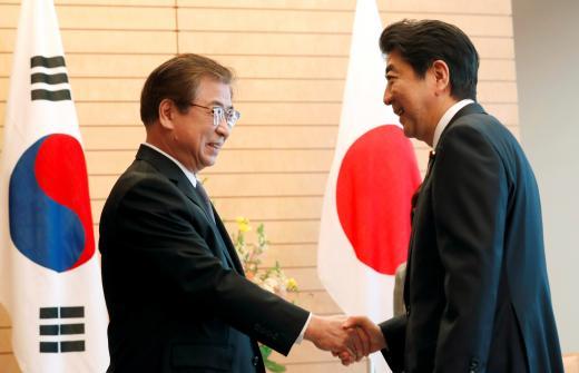 S.Korean president's envoy meets Japanese PM over DPRK, US visits