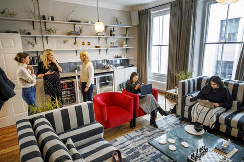 Women-only members club taps London feminist tradition