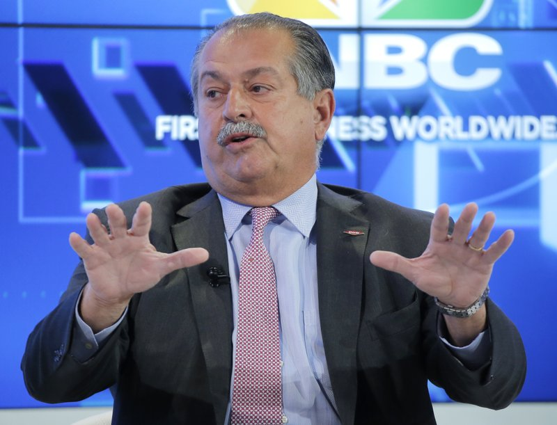 Longtime Dow Chemical chief Andrew Liveris to depart