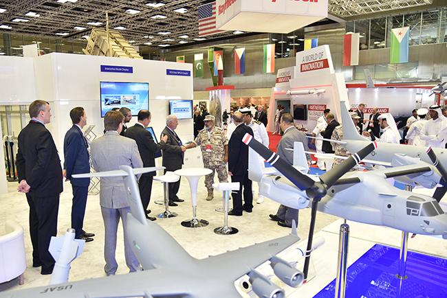 Multinational navies display advanced warships at Doha expo