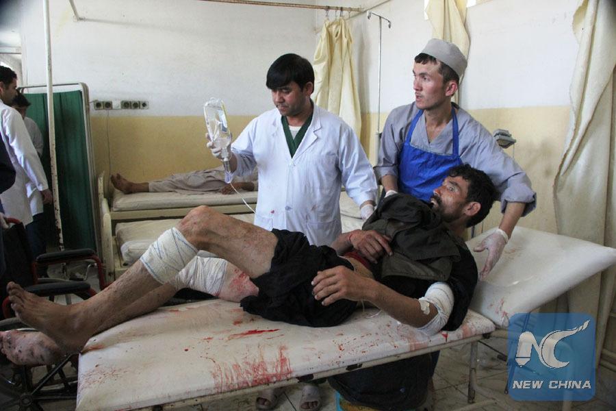 10 security personnel killed, 9 injured in N. Afghanistan