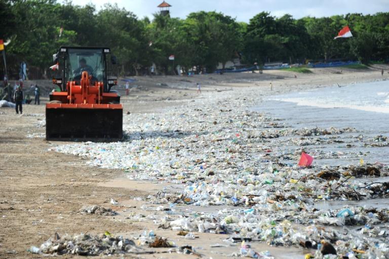 Waste waters: Plastic rubbish chokes Bali's sea
