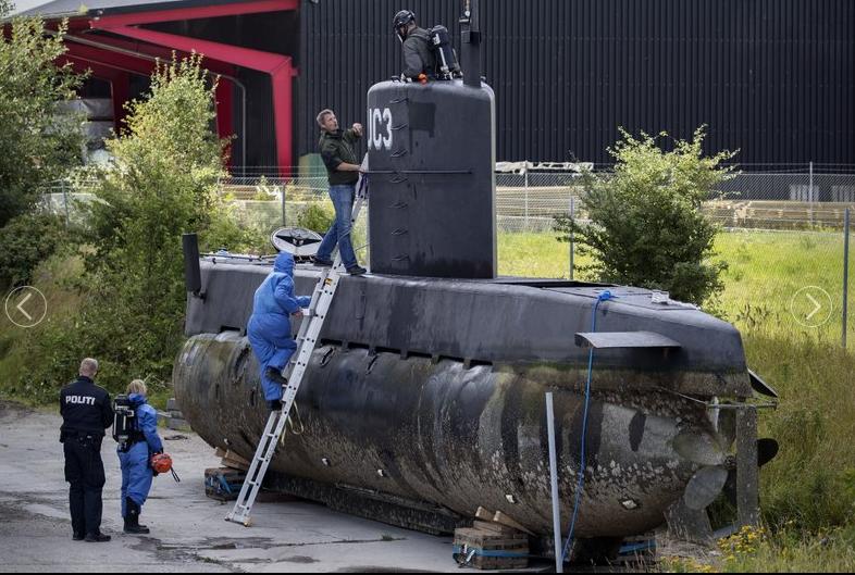 Trial to begin in case of journalist killed in submarine
