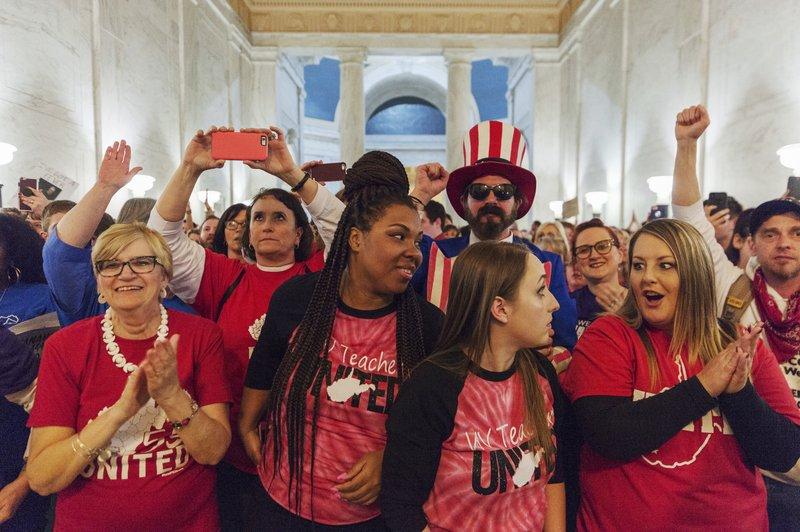 West Virginia leaders reach deal to end teachers strike