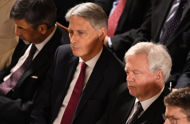 UK does not plan to produce rival Brexit legal text - Hammond