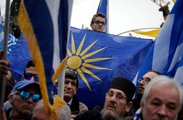 Macedonians rally against name deal with Greece