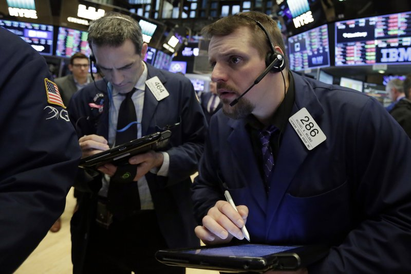US stock indexes turn mixed following trade war talk
